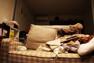 部屋全体を清潔にする
