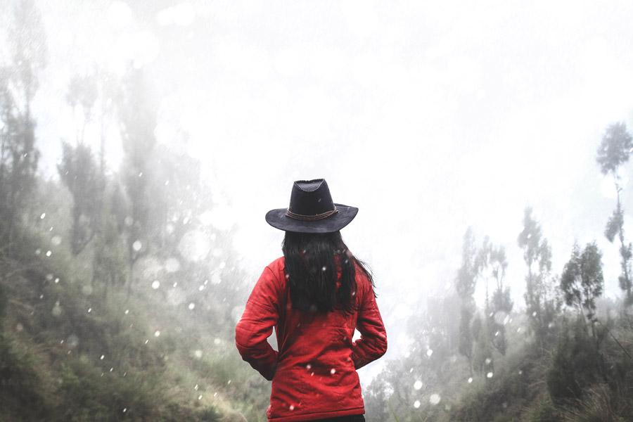 冬の乾燥の時期